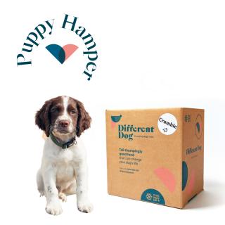 Different dog puppy hamper - natural dog food